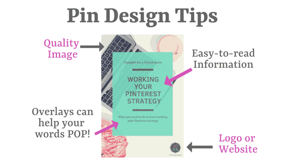 An example pin with Pin Design Tips